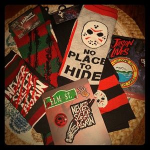 Accessories - HORROR A Nightmare on Elm St. And Friday the 13th